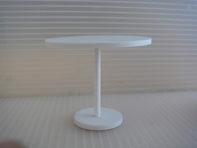 "3"" PEDESTAL BISTRO TABLE"