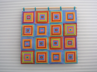 SQUARES WALL QUILT
