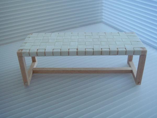 Prime Woven Bench Creativecarmelina Interior Chair Design Creativecarmelinacom