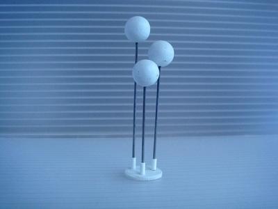 1:18 - 3 SPHERE FLOOR/LAMP