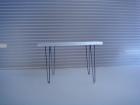 1:18 V-LEG WOOD DINING TABLE
