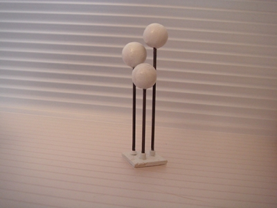 1:24 - 3 SPHERE LAMP