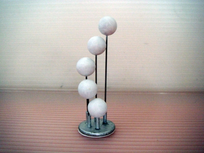 *NEW* 5 SPHERES HANGING/FLOOR LAMP
