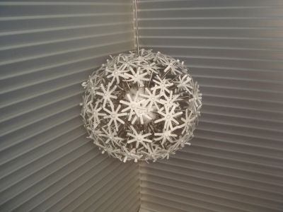 *NEW* SPARKLE HANGING/FLOOR LAMP