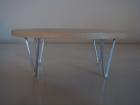 1:6 V-LEG OVAL COFFEE TABLE