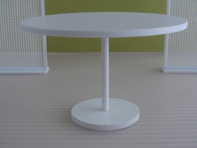 "4"" PEDESTAL DINING TABLE"